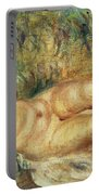 Outstretched Nude Portable Battery Charger