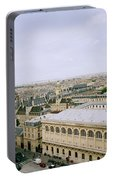 Looking Over Paris Portable Battery Charger