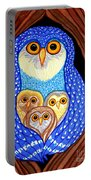 Owl And Owlettes Portable Battery Charger