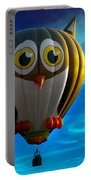 Owl Hot Air Balloon Portable Battery Charger