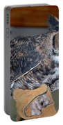 Owl Together Now Portable Battery Charger by LeeAnn McLaneGoetz McLaneGoetzStudioLLCcom
