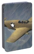 P 51 Mustang On A Mission Portable Battery Charger
