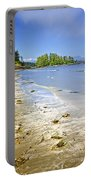 Pacific Ocean Coast On Vancouver Island Portable Battery Charger