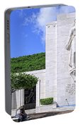 Pacific Theater War Memorial - Honolulu Portable Battery Charger