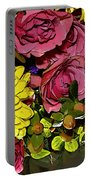 Painted Bouquet Portable Battery Charger