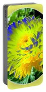 Painted Chrysanthemums Portable Battery Charger