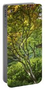 Painted Gardens Portable Battery Charger