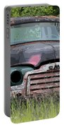 Painted Gmc Truck Portable Battery Charger