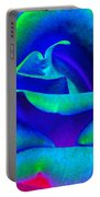 Painted Rose 2 Portable Battery Charger