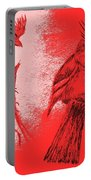 Pair Of Cardinals Portable Battery Charger