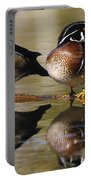 Pair Of Wild Birds Portable Battery Charger