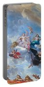 Palace Of Versailles Ceiling Art Portable Battery Charger
