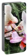 Pale Pink Phalaenopsis Orchids Portable Battery Charger