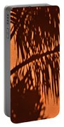 Palm Frond Abstract Portable Battery Charger