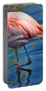 Palm Springs Flamingo Portable Battery Charger