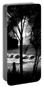 Palm Tree Silouette Portable Battery Charger