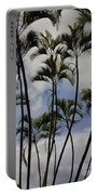 Palm Trees Oahu Portable Battery Charger