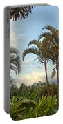Palms In Costa Rica Portable Battery Charger
