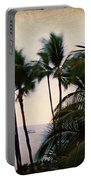 Palms In The Breeze Portable Battery Charger