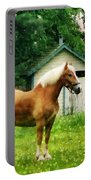 Palomino In Pasture Portable Battery Charger