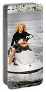 Pamela Anderson Is A Jet Ski Vixen Portable Battery Charger