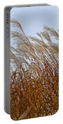 Pampas Grass In The Wind 1 Portable Battery Charger