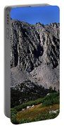 Panoramic Of Hikers On Kersarge Lake Portable Battery Charger