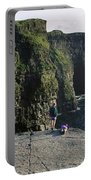 Panoramic View Of Cliffs, Cliffs Of Portable Battery Charger