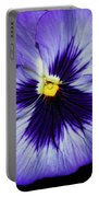 Pansy Closeup Portable Battery Charger