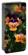 Pansy Garden Portable Battery Charger