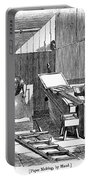 Papermaking, 1833 Portable Battery Charger