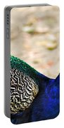 Parading Peacock Portable Battery Charger