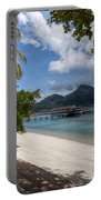 Paradise Island Portable Battery Charger by Adrian Evans