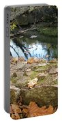 Paradise Springs Stone Wall Portable Battery Charger