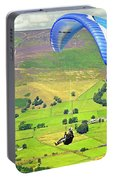 Paragliding Off Mam Tor 01 Portable Battery Charger