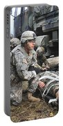 Pararescuemen Prepare To Transport Portable Battery Charger
