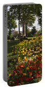 Parc Les Invalides In Spring Portable Battery Charger