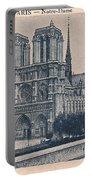 Paris - Notre Dame Portable Battery Charger