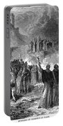 Paris: Burning Of Heretics Portable Battery Charger