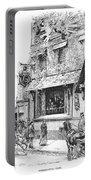 Paris: Cafe, 1889 Portable Battery Charger
