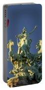Paris Horse Statue Portable Battery Charger