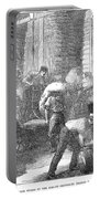 Paris: Les Halles, 1870 Portable Battery Charger