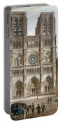 Paris: Notre Dame, C1820s Portable Battery Charger