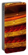 Paris Opera House Iv   Box Seats Portable Battery Charger