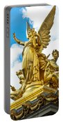 Paris Opera House Vi  Exterior Facade Portable Battery Charger
