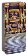 Paris Opera House Vii  Grand Stairway Portable Battery Charger