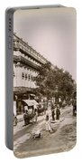 Paris: Street Scene, 1890 Portable Battery Charger
