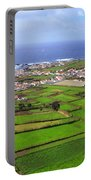 Parish In The Azores Portable Battery Charger
