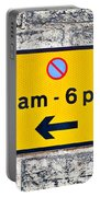 Parking Sign Portable Battery Charger