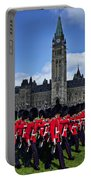 Parliament Building Ottawa Canada  Portable Battery Charger by Garry Gay